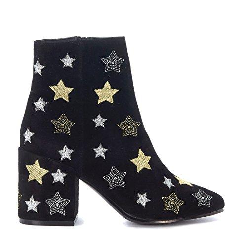 Femme Suède Windsor Noir smith Bottines Stardust ZrZq1H5