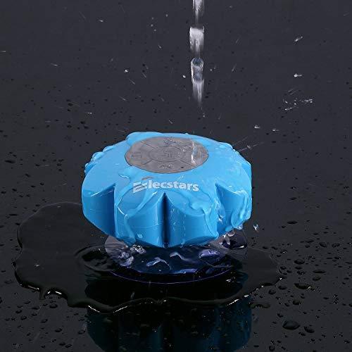 Shower Speaker, Elecstars Water Resistant Bluetooth Waterproof Speaker with Wireless Handsfree Portable Speakerphone…