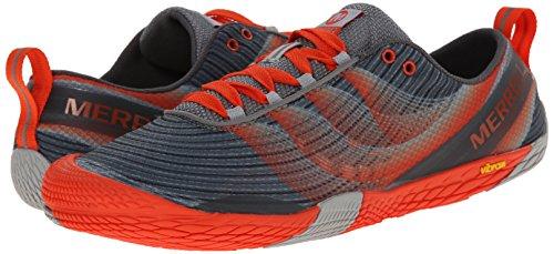 Merrell Men's Vapor Glove 2 Trail Running Shoe, Grey/Spicy Orange, 11 M US by Merrell (Image #6)