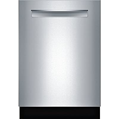 "Bosch SHP68TL5UC 24"" 800 Series Energy Star Built In Dishwasher with 16 Place Settings, 44 dBA Noise Level Stainless Steel with Pocket Handle"