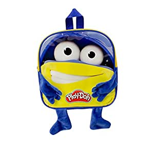 Play Dough DARP-CPDO090 Play-Doh Boy's Backpack with 12 Creative Accessories, Blue/Yellow
