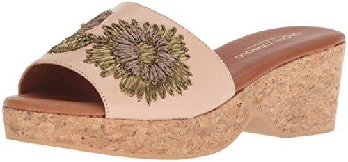 Lili Women's Sandal Wedge André Assous Cream 8xYnwqnEA5