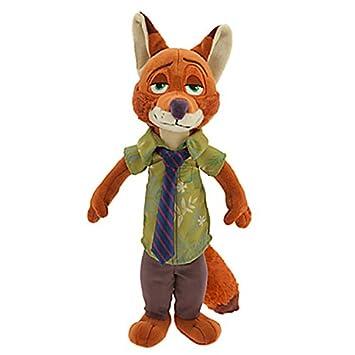 JW Zootopia nick fox juguetes de peluche / muñeca de juguete que gira en torno