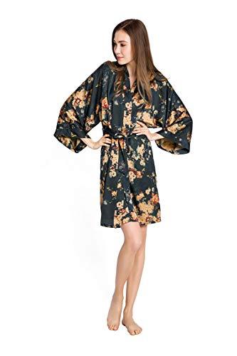 Kim + ONO Women's Kimono Robe Short