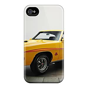 Tpu Case For Iphone 4/4s With Pontiac Gto The Judge Hardtop Coupe'1970