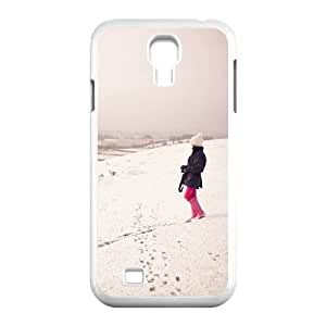 Taking Pictures Samsung Galaxy S4 Cases Hardshell for Girls, Cell Phone Case for Samsung Galaxy S4 Mini [White]