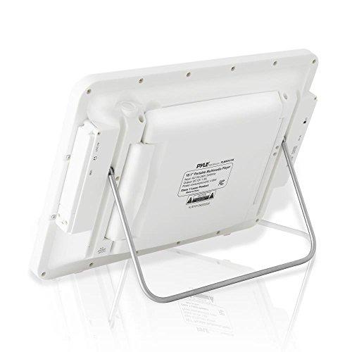 Pyle 10.1'' Portable DVD Player IP67 Waterproof  Car Headrest Backseat Mobile Marine  with Ultra-thin TFT HD Screen USB/SD Readers   Headphone Jack (PLMRDV104) by Pyle (Image #2)