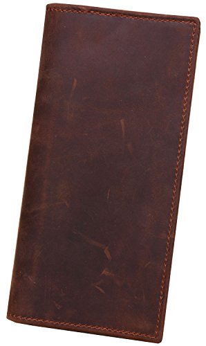 Leather Checkbook Wallets - 5