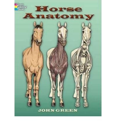 (Horse Anatomy Coloring Book) By John Green (Author) Paperback on (Oct , 2006)