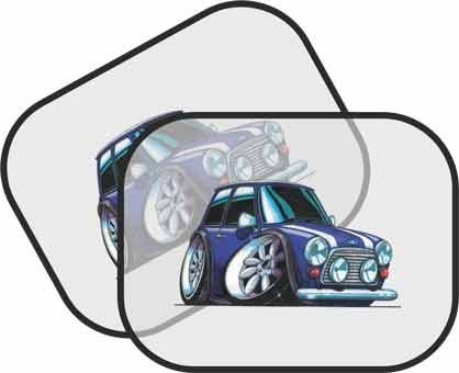 Personalised Koolart-Classic Mini Cooper Car Sun Visor for Cars ... 6b34962f301