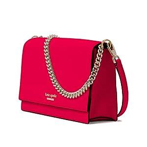 Kate Spade Cameron Convertible Crossbody Leather Handbag WKRU5843 WKRU5844 (Hot Chili)
