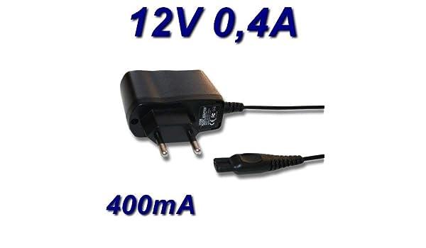 Cargador de 12 V para afeitadora Braun Series 3 3020s: Amazon.es ...