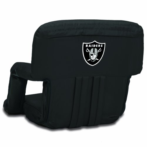 - NFL Oakland Raiders Portable Ventura Reclining Stadium Seat