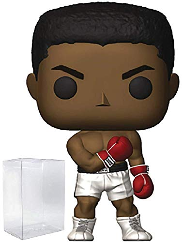 Funko Pop! Sports Legends: Muhammad Ali Pop! Vinyl Figure (Includes Compatible Pop Box Protector Case)