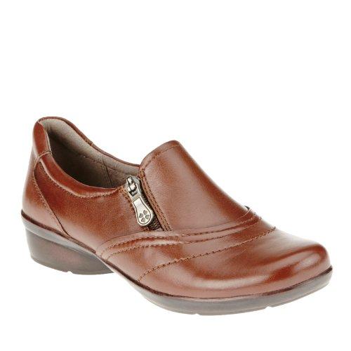 Naturalizer Clarissa Femmes Marron étroit Cuir Chaussures Mocassins EU 37