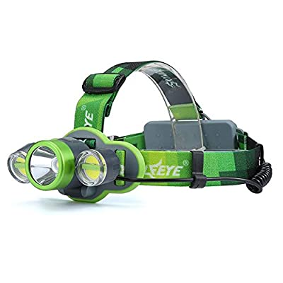 XIAOBUDIAN 15000LM XM-L T6+2X LED Rechargeable 18650 Headlamp Headlight Light Torch Waterproof
