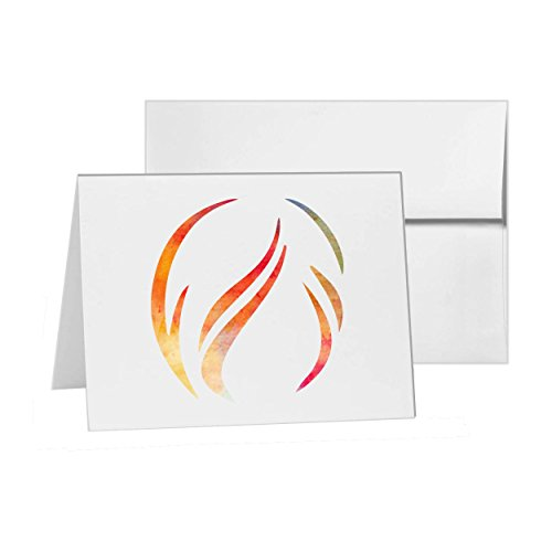 Hair Fashion Female Girl Style, Blank Card Invitation Pack, 15 cards at 4x6, Blank with White Envelopes Style 7468