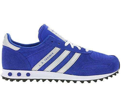 adidas Unisex-Erwachsene La Trainer J 157 Sneaker, Blau Blau (Blue/White S80157)