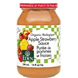 Eden Foods Apple Strawberry Sauce, 398 ml (Pack of 12)