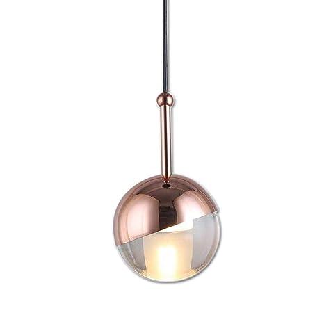 Colgante lámpara de techo LED pequeño balón Modern cromo ...