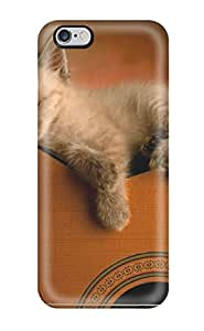 New Style 9982569K44259312 Perfect Fit Kitten On Guitar Case For Iphone - 6 Plus