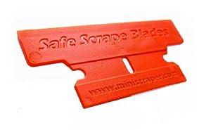 Plastic Razor Blades , T Blade 50% Wider 10 Pack