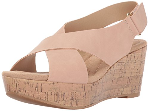 CL by Chinese Laundry Women's Dream Girl Wedge Sandal Dusty Pink Nubuck countdown package for sale free shipping cheap price outlet perfect rh7Bb8197