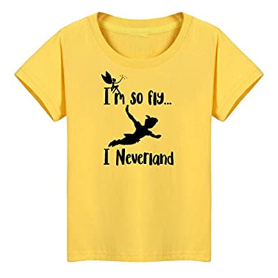 Conquershop Kids I'm So Fly I Neverland Funny T-Shirt