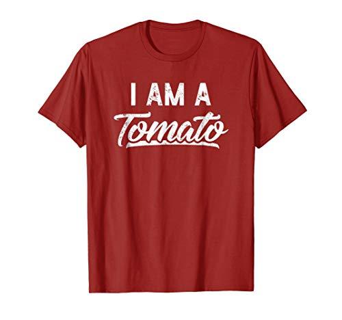 I Am A Tomato Funny Halloween T-Shirt Easy Costume Idea -