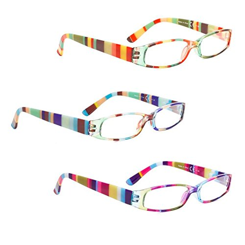 - READING GLASSES 3 pack Smaller Readers for Women +3.50