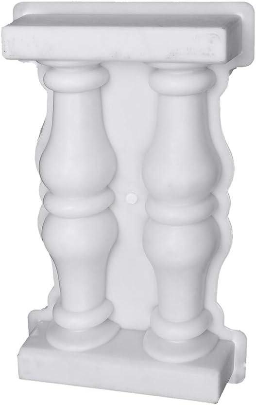 Jroyseter Molde para Valla de jard/ín Molde De Cemento De Columna Balc/ón Jard/ín Barandilla Valla Barandilla Moldes Escultura Moldeado para balaustrada DIY Pasarela Decoraci/ón al Aire Libre