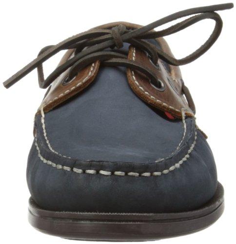 Chatham Marine Commodore - Náuticos de cuero hombre Azul - Navy/Brown