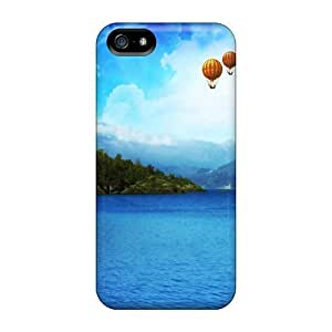 High Grade Maria N Young Flexible Tpu Case For Iphone 5/5s - Island Owl Nature