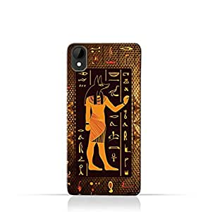 HTC Desire 825 TPU Silicone Case with Egyptian Hieroglyphs Pattern