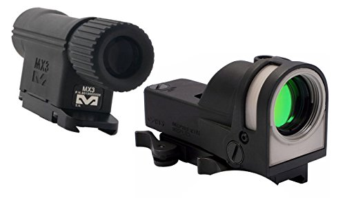Meprolight MX3 3x Magnifier and M21 Self-Powered Reflex Sight Aiming System