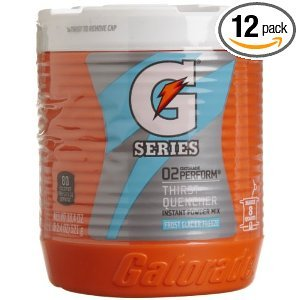 Gatorade Powder Frost Glacier Freeze Packets 18.4 OZ (Pack of 24) by Gatorade