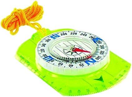 Highlander Compact Orienteering Ruler /& Compass