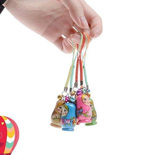 [Russian Nesting Dolls Toy Wooden Doll Babushka Matryoshka Hand Painted] (Traditional Russian Outfits)