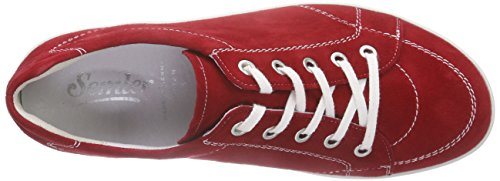 Semler Michelle Damen Brogues Rot (066 - fire)