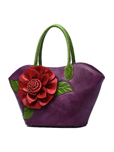 Black Borsa Nero Clvs Donna Purple Tote dgIIwz