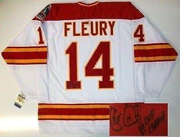 half off 33358 925be 14 theoren fleury jersey amazon