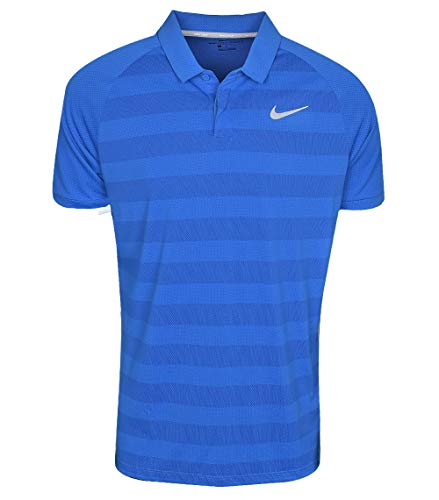 flat Std Polo gym Nike Stripe Znl Cl Blue Nebula Silver Nk Homme Blue gwgqSIP