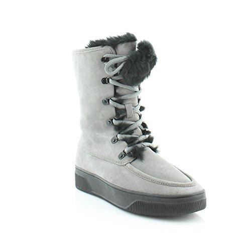 MICHAEL Michael Kors Juno Faux Fur Trim Cold Weather Ankle Boot Storm (7) ()