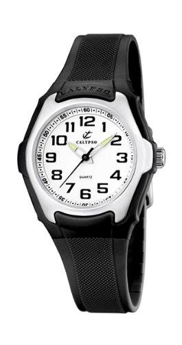 Calypso K5216/6 - Reloj de mujer de cuarzo, correa de plástico color negro