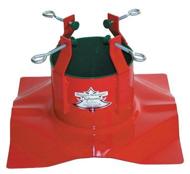 Santa's Solution Supreme Christmas Tree Stand for Live Christmas Trees up to 10 Feet Tall Live Christmas Trees