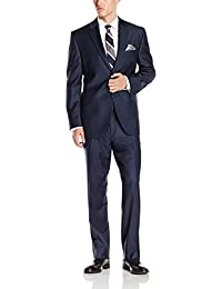 Men's Two-Piece Suit With Two-Button Side Vent Jacket and Pant