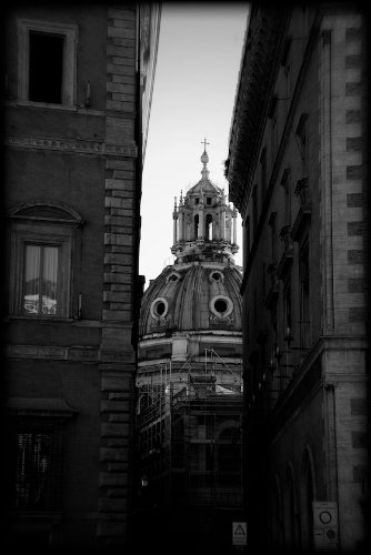 Vatican city black and white print itbw4162 4x6
