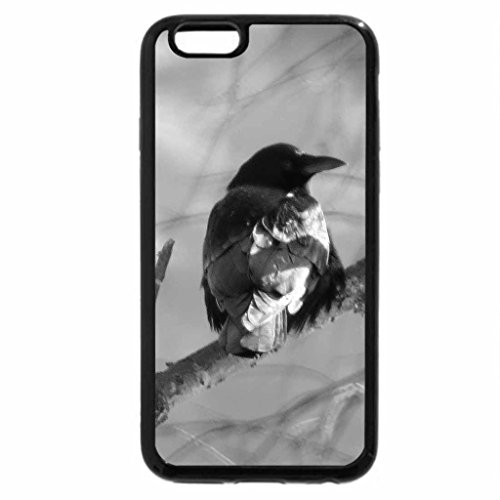 iPhone 6S Plus Case, iPhone 6 Plus Case (Black & White) - Bare and Beautiful
