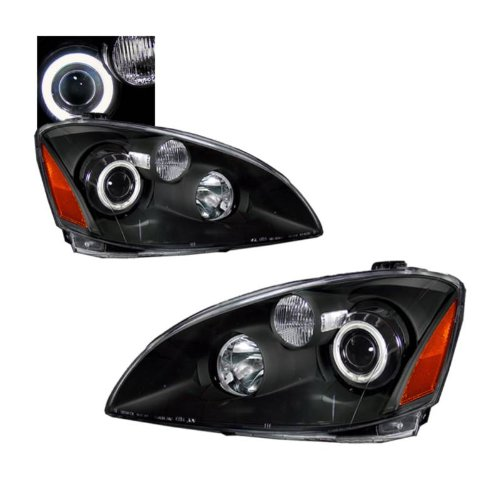 SPPC Projector Headlights Black (CCFL Halo) For Nissan Altima - (Pair)