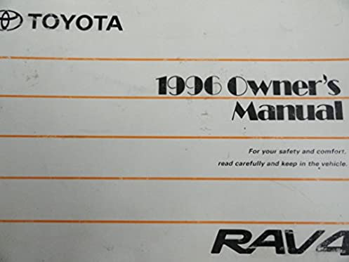 1996 toyota rav4 owners manual toyota amazon com books rh amazon com 1996 toyota rav4 repair manual free 1996 toyota rav4 repair manual free download